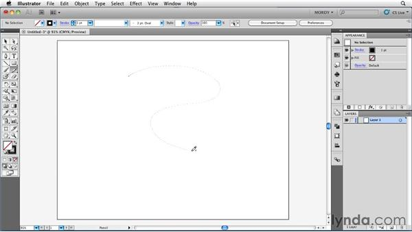 Understanding how the Pen and Pencil tools differ: Illustrator Insider Training: Drawing without the Pen Tool