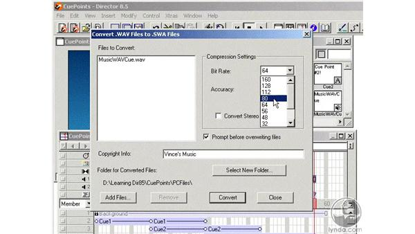 cue points and the pc part 2: Learning Director 8.5
