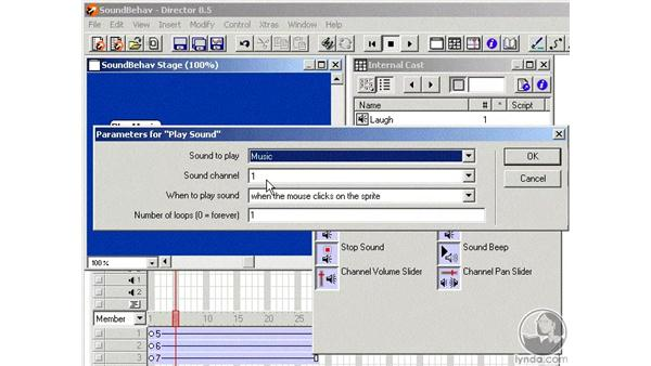 sound behaviors part 1: Learning Director 8.5