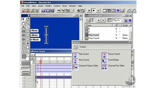 sound behaviors part 2: Learning Director 8.5