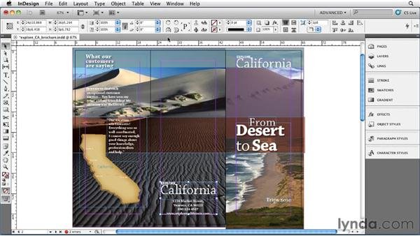 007 Selecting through and into objects using cmd-click and Select Above/Below: InDesign Secrets