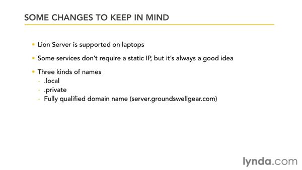 Understanding the changes in Lion Server: Mac OS X Lion Server Essential Training