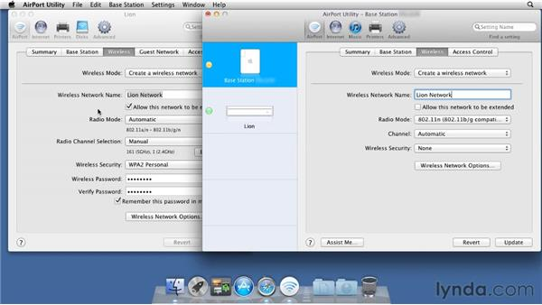 Extending your network using Airport Express: Mac OS X Lion Server Essential Training