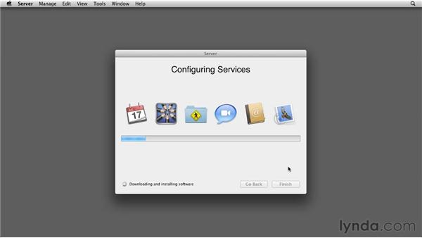 Upgrading a client: Mac OS X Lion Server Essential Training