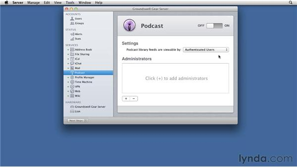 podcast mac os x