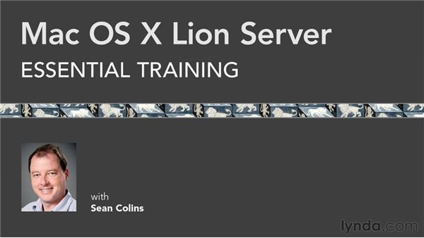A fond farewell: Mac OS X Lion Server Essential Training