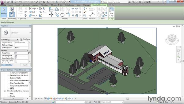 Working with 3D view settings: Rendering with Revit Architecture 2012