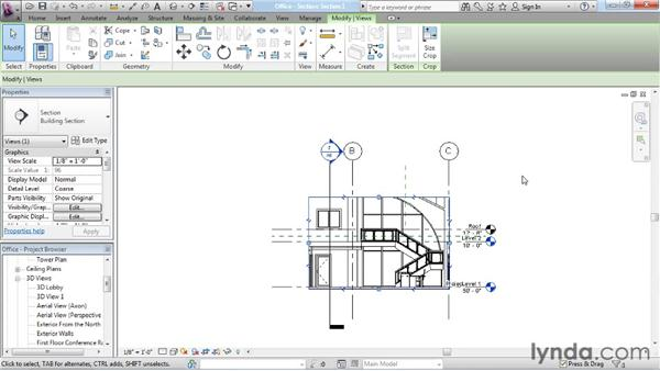 Creating cutaway 3D views: Rendering with Revit Architecture 2012