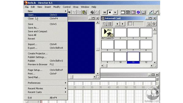 adding to the library palette: Learning Director 8.5