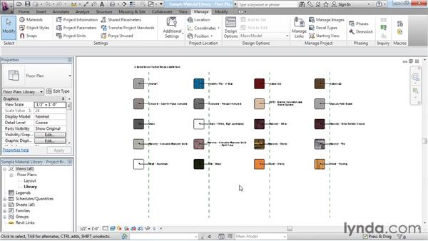 Sharing materials between files: Rendering with Revit Architecture 2012