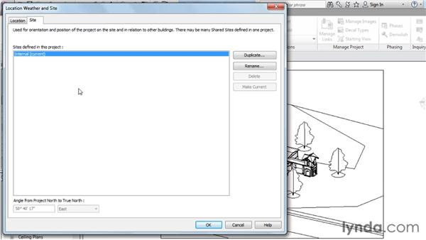 Setting your location: Rendering with Revit Architecture 2012