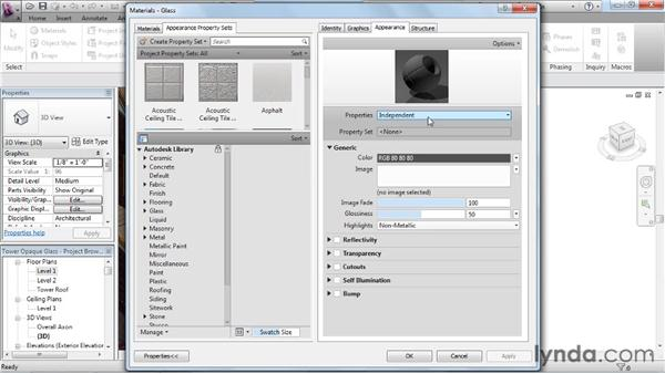 Refining the scene: Rendering with Revit Architecture 2012