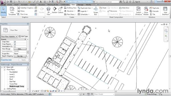 Creating a walkthrough: Rendering with Revit Architecture 2012