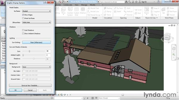 Creating non-photorealistic renderings: Rendering with Revit Architecture 2012