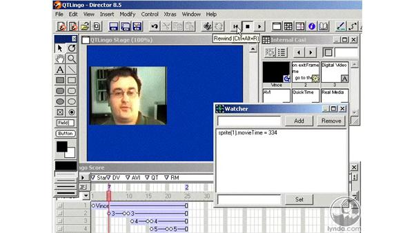 quicktime movie timing: Learning Director 8.5