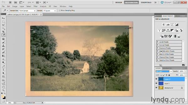 Welcome: Photo Restoration with Photoshop