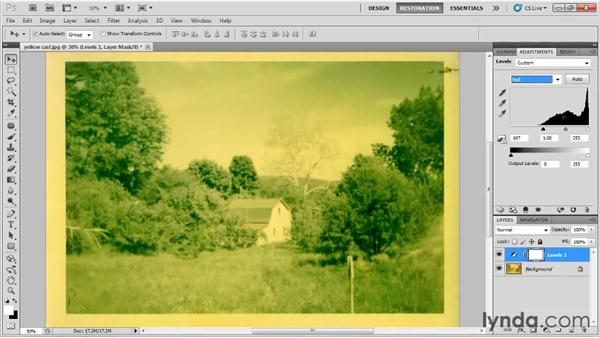 Understanding the basics of levels: Photo Restoration with Photoshop