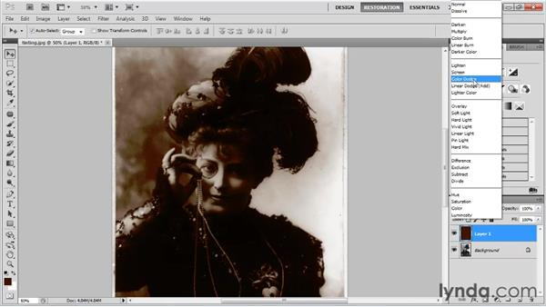 Enhancing black-and-white photos with duotone: Photo Restoration with Photoshop
