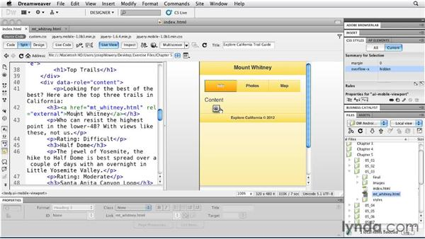 Going back in history: Building Android and iOS Apps with Dreamweaver CS5.5