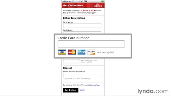 Unnecessary inputs: Web Form Design Best Practices