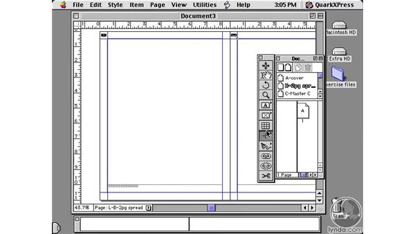 master pages: Learning QuarkXPress 5