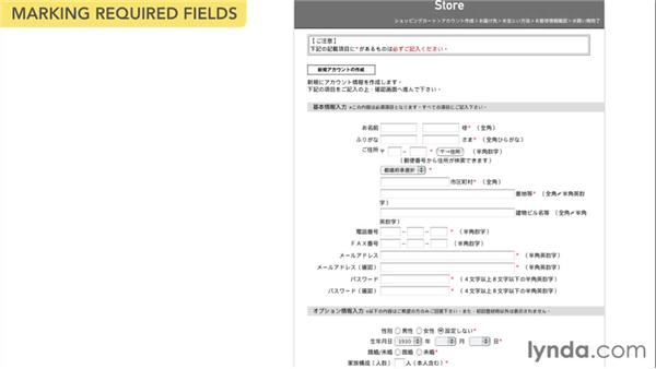 Required fields: Web Form Design Best Practices