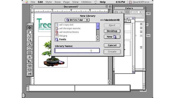libraries: Learning QuarkXPress 5