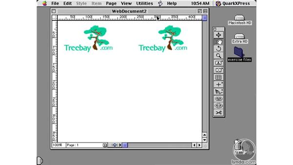 creating for the web: Learning QuarkXPress 5