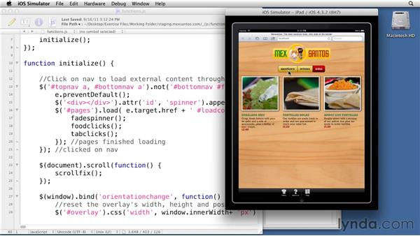 Testing and debugging: Creating an Adaptive Web Site for Multiple Screens