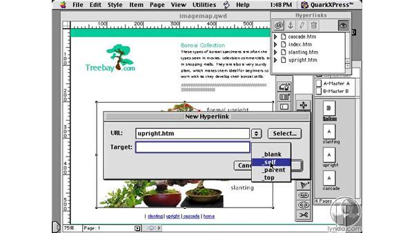 creating image maps: Learning QuarkXPress 5