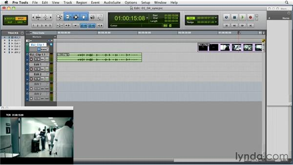 Syncing picture to Pro Tools: Music Editing for TV and Film in Pro Tools