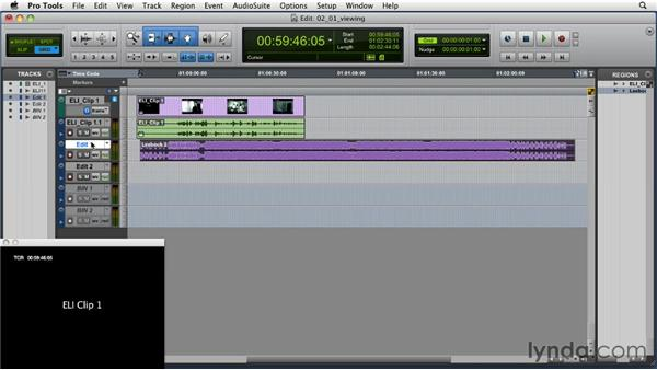 Using the Zoom and View commands: Music Editing for TV and Film in Pro Tools
