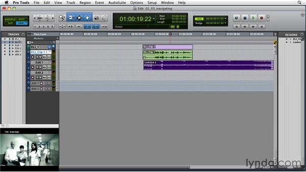 Navigating with key commands: Music Editing for TV and Film in Pro Tools