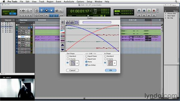 Customizing crossfades: Music Editing for TV and Film in Pro Tools