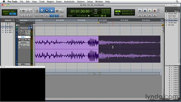Improving the 30-second condensed edit: Music Editing for TV and Film in Pro Tools