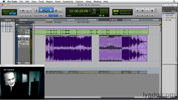 Exploring alternate edits of the same song: Music Editing for TV and Film in Pro Tools