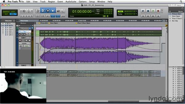 Bouncing down the edit: Music Editing for TV and Film in Pro Tools