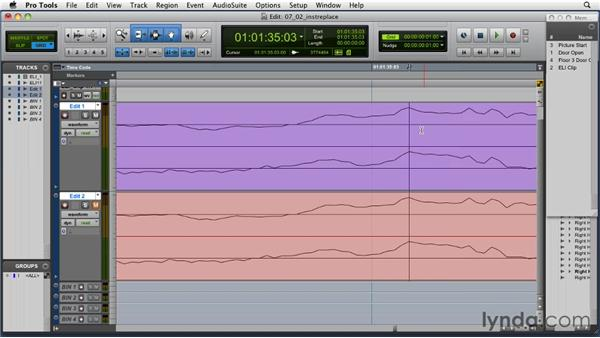 Removing profanities with instrumentals: Music Editing for TV and Film in Pro Tools