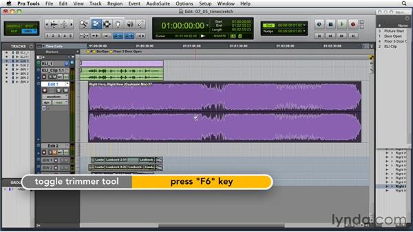 Time stretching: Music Editing for TV and Film in Pro Tools