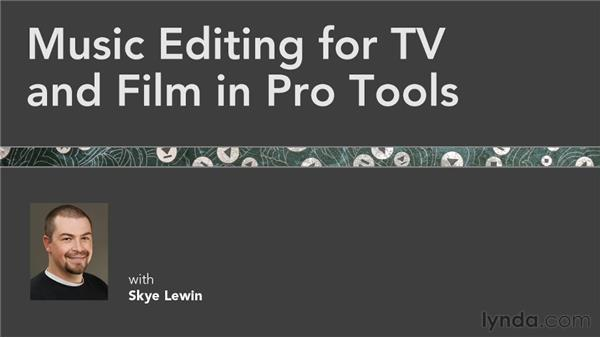 Goodbye: Music Editing for TV and Film in Pro Tools
