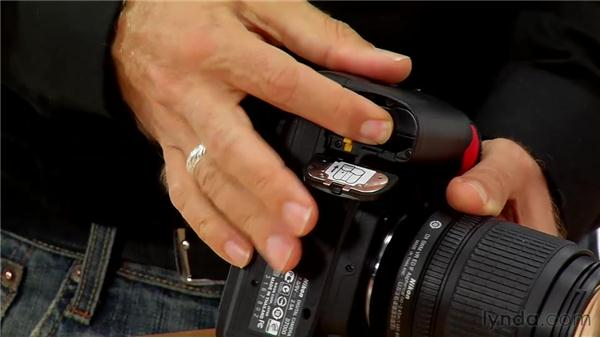 Using batteries and media cards: Shooting with the Nikon D7000