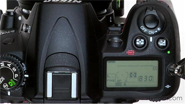 Manually selecting a focus point: Shooting with the Nikon D7000