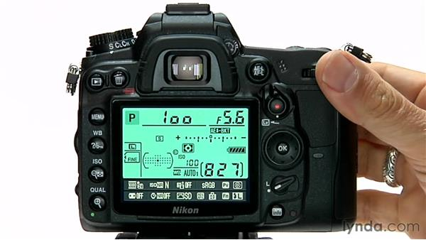exposure bracketing rh lynda com Nikon D70 Manual shooting in manual mode nikon d7100
