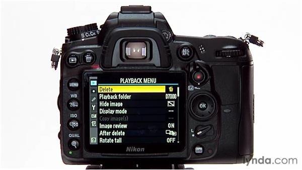 Protecting and deleting images: Shooting with the Nikon D7000