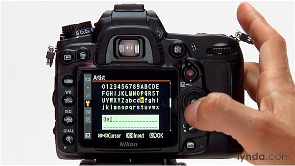 Copyright information: Shooting with the Nikon D7000