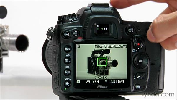 Focusing in Live View: Shooting with the Nikon D7000