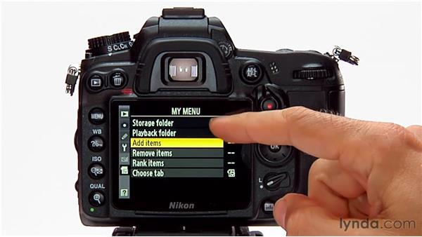 My Menu: Shooting with the Nikon D7000