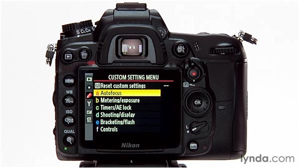 What are custom settings?: Shooting with the Nikon D7000
