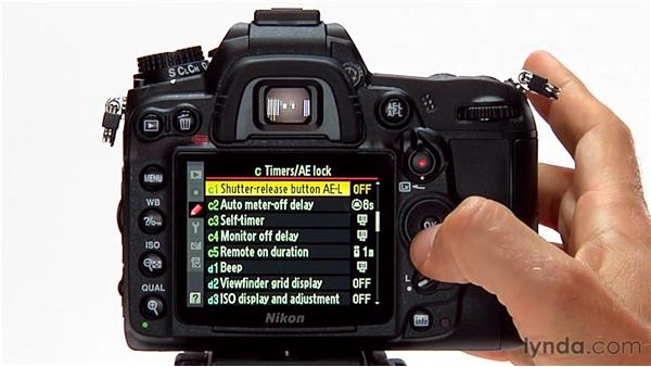 The AE-L button: Shooting with the Nikon D7000