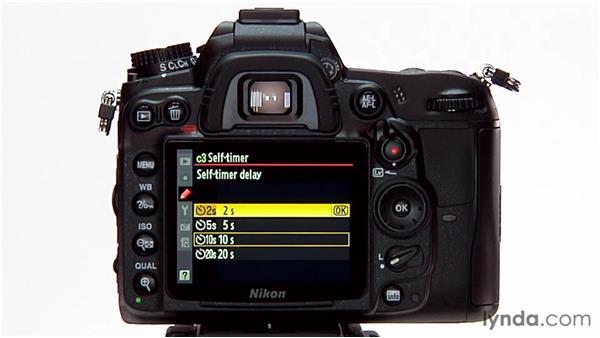 The self-timer: Shooting with the Nikon D7000